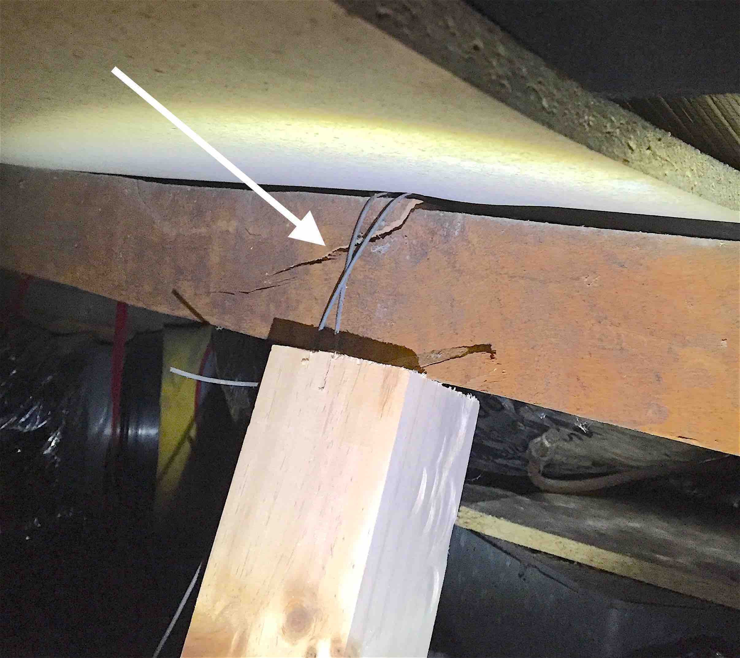 Split-roof-truss